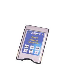 Jessops 6 In 1 PCMCIA Card Adapter Reviews