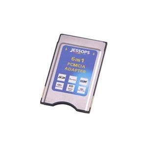 Photo of Jessops 6 In 1 PCMCIA Card Adapter Memory Card