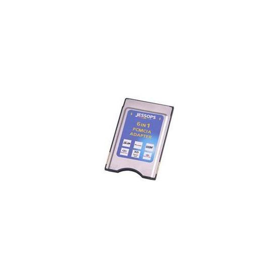 Jessops 6 In 1 PCMCIA Card Adapter