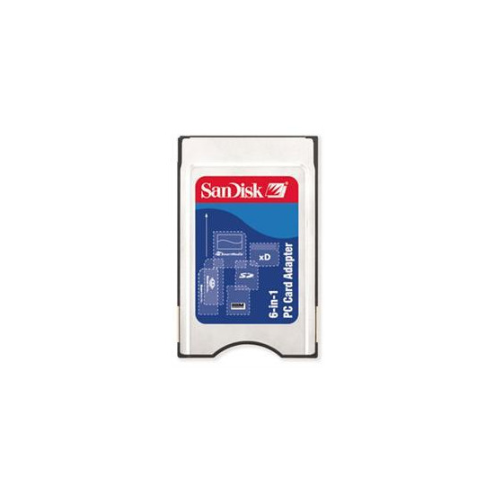 6 In 1 PC Card Adapter