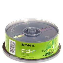 48x CD-R 80 minutes (700MB) (Pack of 25) Reviews