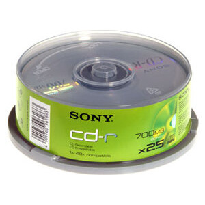 Photo of 48X CD-R 80 Minutes (700MB) (Pack Of 25) CD R