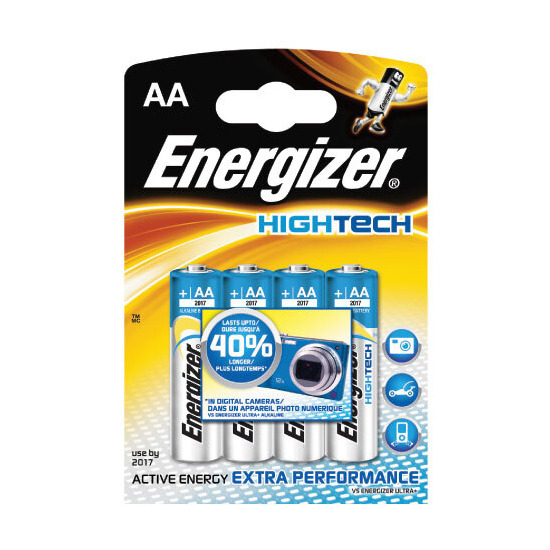 Energizer Ultimate AA Pack Of 4