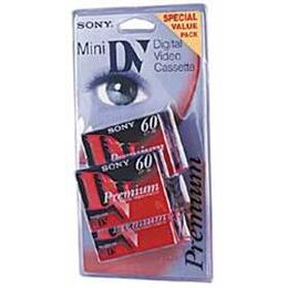 Sony DV Mini 60 Minute Cassettes Pack Of 5 Reviews