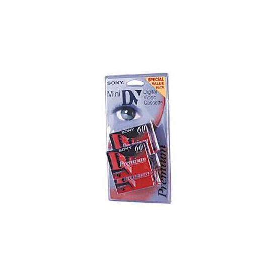 Sony DV Mini 60 Minute Cassettes Pack Of 5