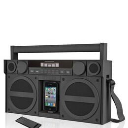 iHome iP4 Portable FM Stereo