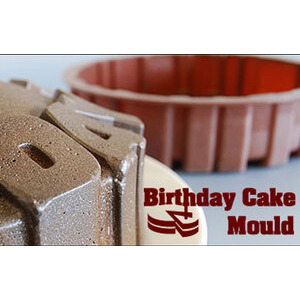 Photo of Birthday Cake Mould Cookware