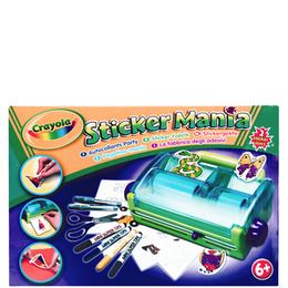 Crayola - Sticker Mania Reviews