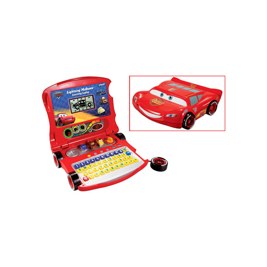 Disney Pixar Cars - Lightning McQueen Learning Laptop