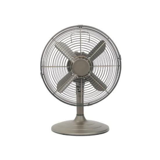 Prem-i-air 12 inch Chrome Desk Fan