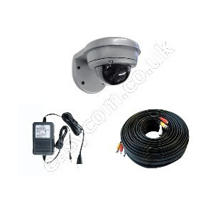 Photo of Maylink External IR Dome CCTV Camera With 18M Cable CCTV