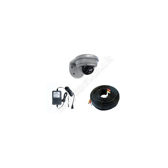 Maylink External IR Dome CCTV Camera with 18M Cable