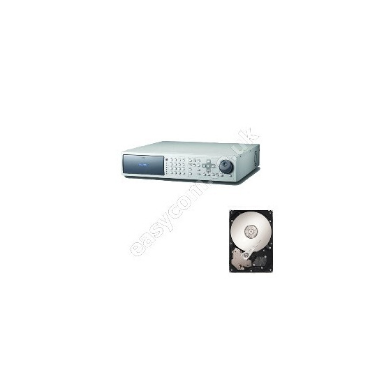 8 Channel Dual Stream JPEG Network DVR with 160GB Seagate Hard Drive