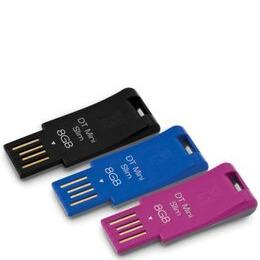 Kingston DataTraveler Mini Slim - USB flash drive - 8 GB Reviews