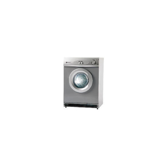 White Knight Silver 6kg Vented Tumble Dryer 447SV