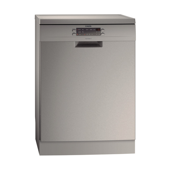 AEG F77012M0P Fullsize Dishwasher Stainless Steel