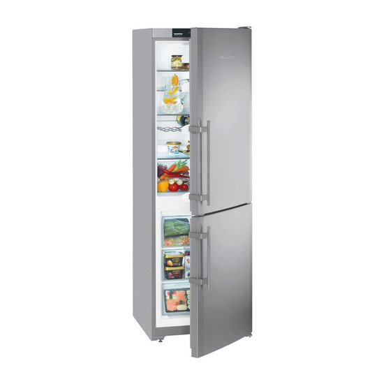 Liebherr CUNESF3523 Fridge Freezer - Stainless Steel