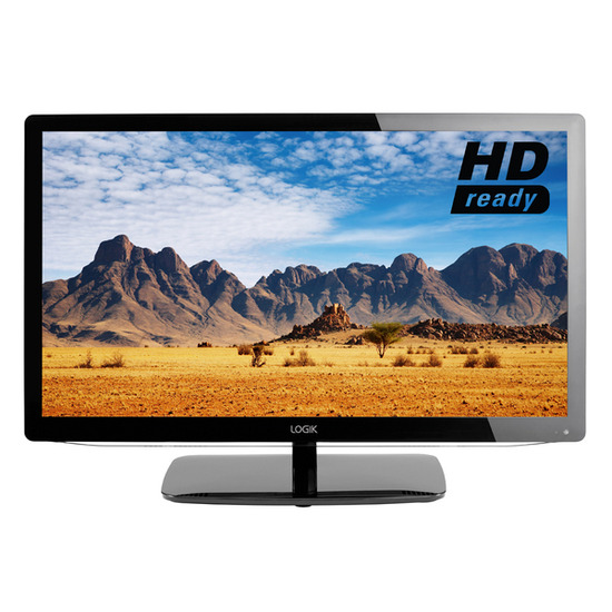 "Logik L19HED12 HD Ready 19"" LED TV with Built-in DVD Player"