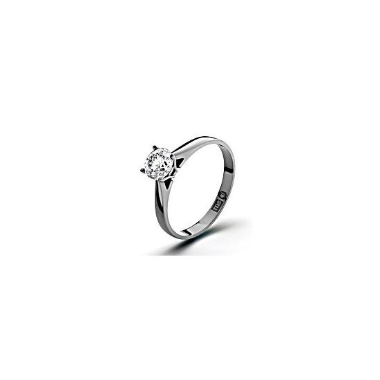 Certified 0.50CT Petra Platinum Engagement Ring H/SI1