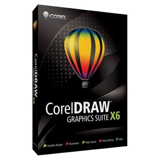 CorelDraw Graphics Suite X6 (PC)