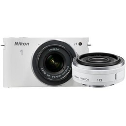 Nikon 1 J1 Digital Camera with 10mm and 10-30mm Twin Lens Kit Reviews