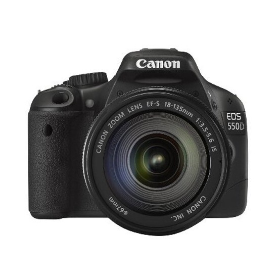 Canon EOS 550D with 18-135mm f/3.5-5.6 IS Lens Kit