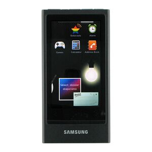 Photo of Samsung YP-P3 JC 8GB MP3 Player