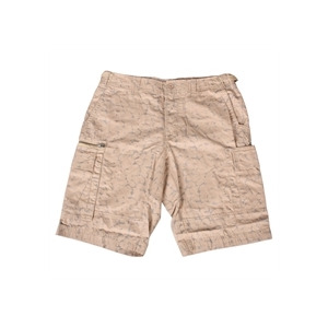 Photo of French Connection Beige Camo Shorts Trousers Man