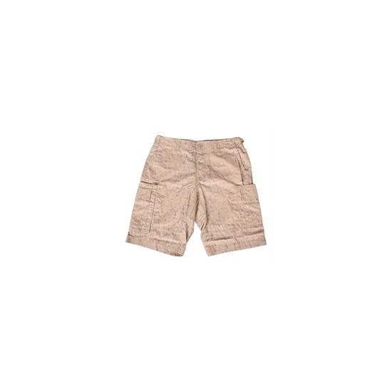 French Connection beige camo shorts