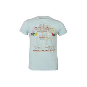 Photo of Joystick Junkies Arcade Anthem Printed Tee - Aqua T Shirts Man