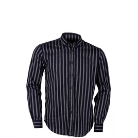 Peter Werth Blue Button Down Stripe Shirt Reviews