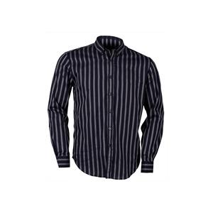 Photo of Peter Werth Blue Button Down Stripe Shirt Shirt