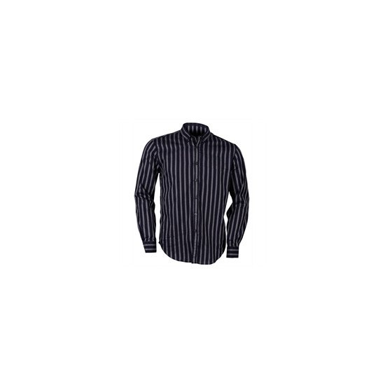 Peter Werth Blue Button Down Stripe Shirt