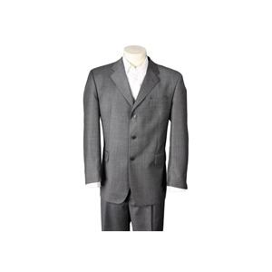Photo of Berwin and Berwin Grey Textured Suit Shirt
