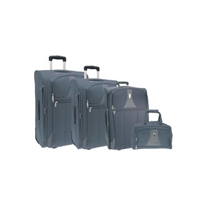 Photo of Portland Trip Light Grey Nest Of 4 Cases Luggage Accessory