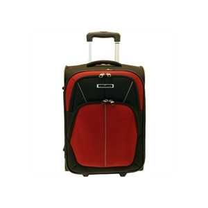 Photo of Portland Continental Black Red Large Case Luggage