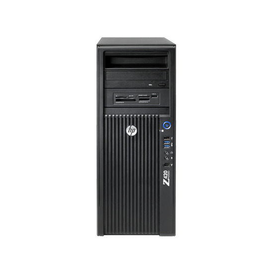 HP WM436EA Convertible Mini-tower Workstation - 1 x Intel Xeon E5-1650