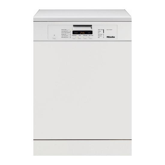 Miele G6160 SCVI Standard Fully Integrated Dishwashers