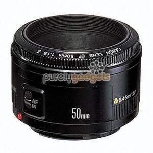 Photo of Canon Ef 50MM II Camcorder Accessory