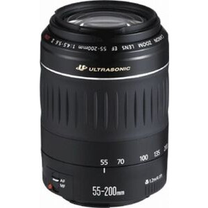Photo of Canon 4,5 - 5,6 55 - 200MM EF II USM Lens