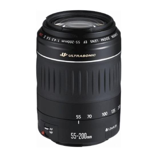 Canon 4,5 - 5,6 55 - 200MM EF II USM