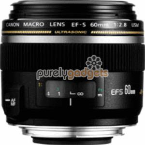 Photo of Canon EF-S 60MM Macro USM Lens