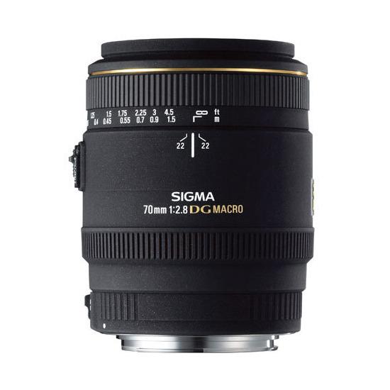 Sigma 70mm f/2.8 EX DG Macro Lens (Canon)