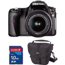 Pentax K110D 18 55MM Lens Lowepro Bag 1GB Card Reviews