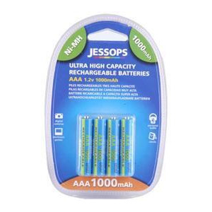 Photo of Ni-MH Batteries AAA 1000MAH - Pack Of 4 Battery