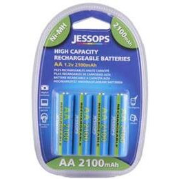 Jessops Ni MH Batteries AA 2100MAH Pack Of 4 Reviews