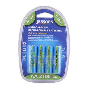Photo of Jessops Ni MH Batteries AA 2100MAH Pack Of 4 Battery