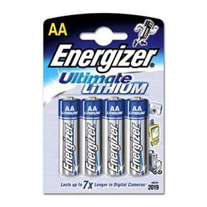 Photo of Energizer Ultimate Lithium AA Batteries Pack Of 4 Battery