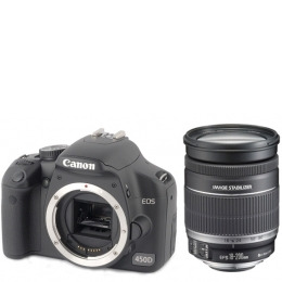 Canon EOS 450D with EF-S 18-200mm IS Lens Kit Reviews