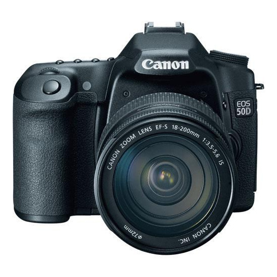 Canon EOS 50D with 17-85mm lens